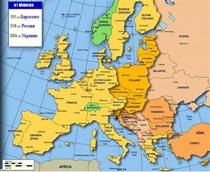 Belarus Map Minsk Russia Belarusians Apparently Europe