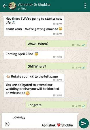 Wedding Invitation Cards On Whatsapp