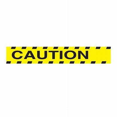 Caution Tape Clip Clipart Border Construction Safety