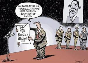 Is Obama's Nobel Just to Repudiate George W. Bush ...