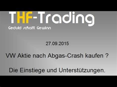 vw aktie kaufen vw aktie nach abgas crash kaufen oder doch verkaufen