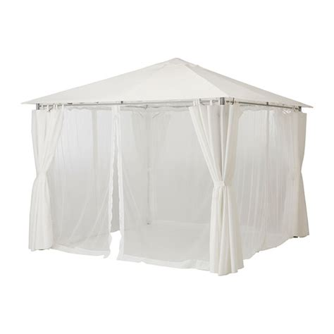 ikea gazebo for your simple outdoor contemporary