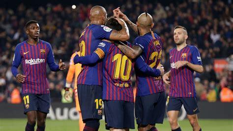 Barcelona vs. Real Valladolid - Football Match Report ...