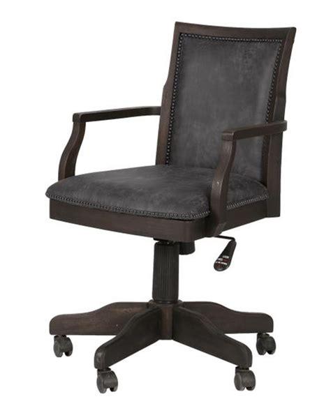 padded desk upholstered desk chair barnhardt by magnussen mg h2588 83