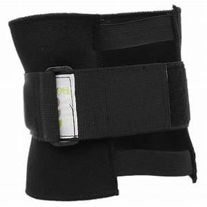 Black Pressure Point Brace Back Pain Acupressure Knee Warp Protector Beactive Fi