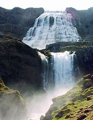West Fjords Iceland Waterfall