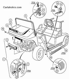 Cartaholics Golf Cart Forum  U0026gt  Need Info On Club Car Body Removal
