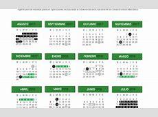 Calendario Escolar 20172018 195 días Secretaría de