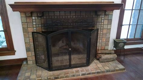 wood burning fireplace james colin campbell
