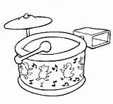 Drum Coloring Drums Drawing Snare Cool Coloringcrew Getdrawings sketch template