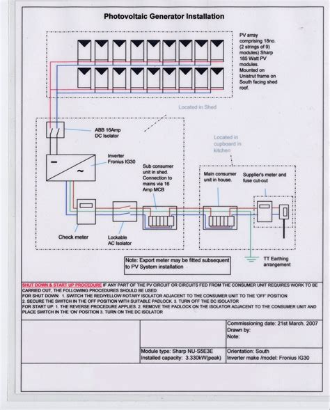 solar pv panel wiring diagram wiring diagram and schematics