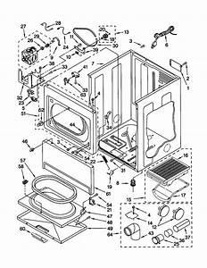 Kenmore Gas Dryer Dryer Top Parts