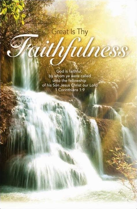 great  thy faithfulness   victorious  christ