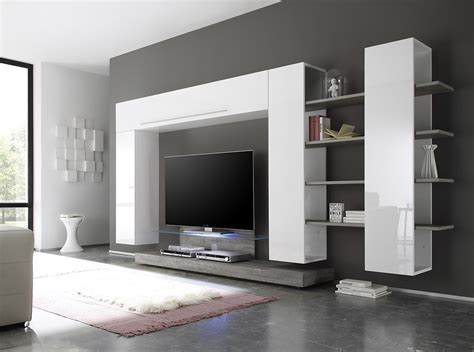 Line 2-7 Wall Unit By Lc Mobili Italy
