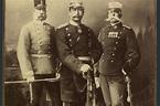 Franz Joseph I, Wilhelm II and Umberto I of Italy, photo ...