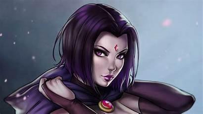 Raven Titans Dc Teen Comics Wallpapers Background