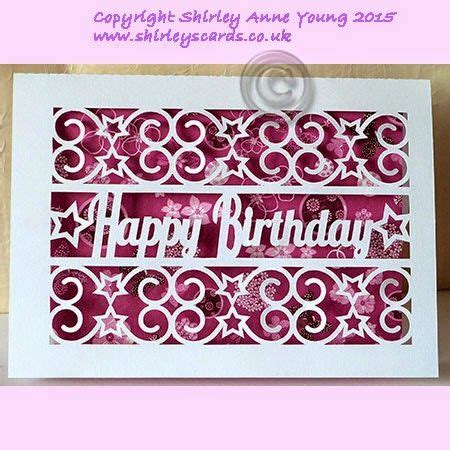 free birthday card template cricut freebie happy birthday with card shirley s cards