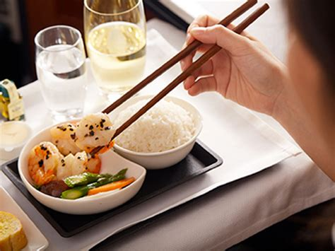 cuisine d une chinoise cathay pacific propose une cuisine chinoise de haut haut