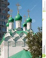 Moscow, Russia. Church Simeon On Cook Built In 1676 Stock ...