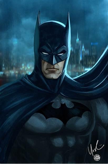 Batman Portrait Protokitty Deviantart Deviant Fan Reader