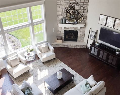 budget imges sitting best furniture best rustic living similar floor plan and corner fireplace to our house