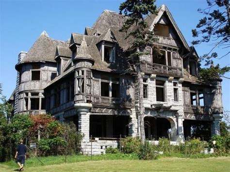 Old Abandoned Mansion Currently For Sale In Carleton, New