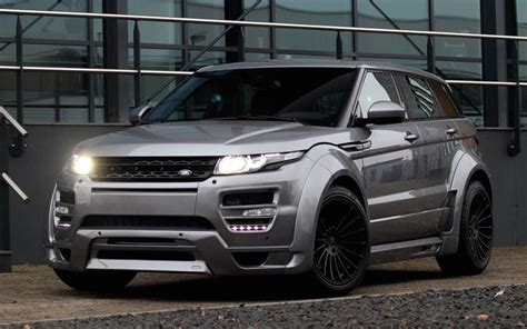 hamann range rover evoque  chipped