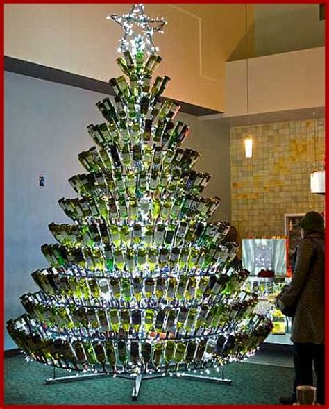 christmas trees made of bottles recipes with wine archive cooking with