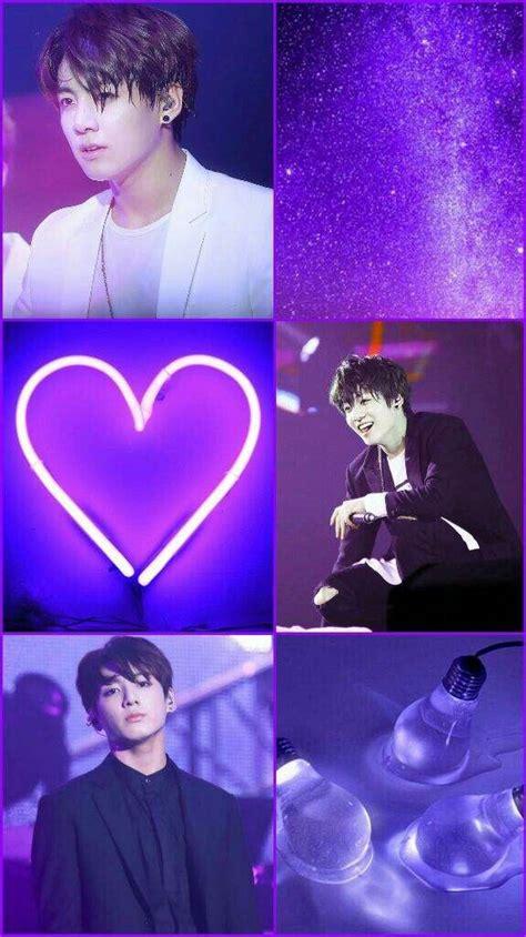 jeon jungkook wallpaper purple aesthetic jungkook