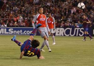Lionel Messi in FC Barcelona v Chivas - Zimbio