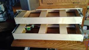 Spice Rack Pull Out Upper Cabinet Verticle Roll Out