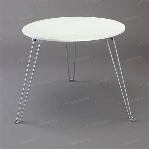 round plastic coffee table white pp plastic top coffee table round metal tube three