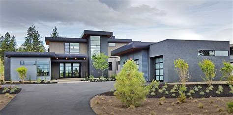 Modern House Plan With 2 Master Suites