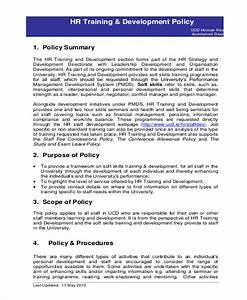 Staff Policy Template HR Policy Template 17 Free Word Excel PDF Documents Download Free Premium Templates