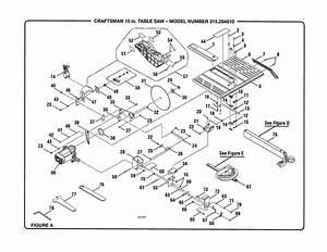 Looking For Craftsman Model 315284610 Table Saw Repair
