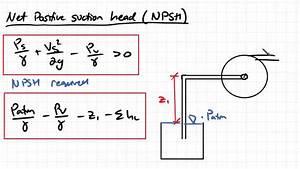 Cavitation and Net Positive Suction Head | Fluid Mechanics ...