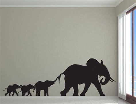 elephant nursery elephant decor elephant family decal