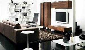 Living room decorating ideas for small spaces with wall shelves Home Interior & Exterior