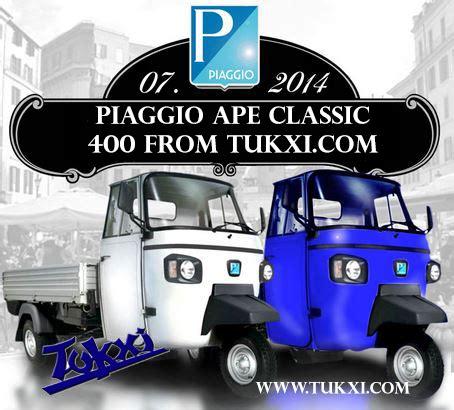 ape classic 400 ape classic 400 up truck piaggio ape by tukxi