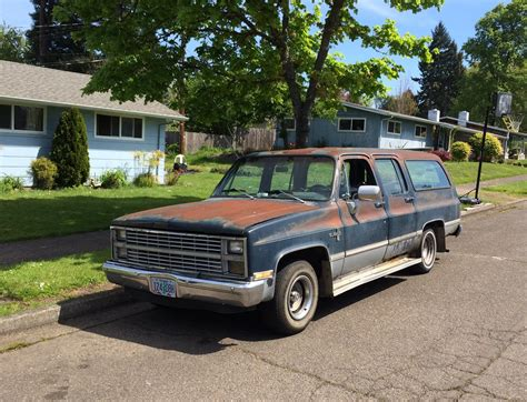 Curbside Classic 1982 Chevrolet Suburban  Four Doors For