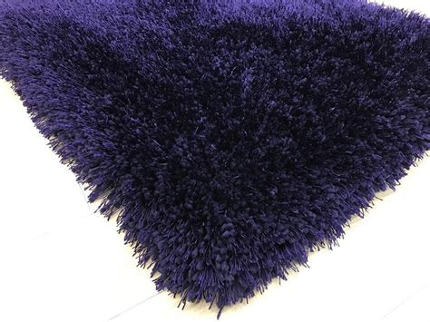 So as mentioned earlier, when choosing an ottoman vs. Shaggy Viscose Rug Solid Purple - Casye Furniture