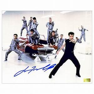John Travolta Autographed 8x10 Greased Lightning Dance ...