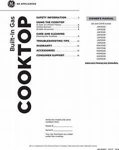 Ge Cgp9530sl1ss User Manual Gas Cooktop Manuals And Guides