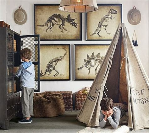 Kinderzimmer Wandtattoo  Dinosaurierabbildungen Für