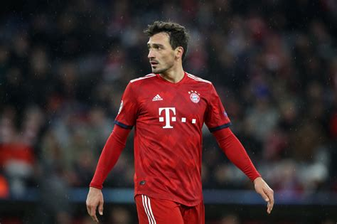 Join the discussion or compare with others! Bayern Munich: Mats Hummels isn't fazed by competition for ...