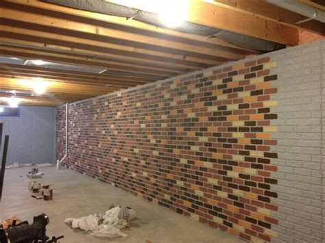 Painting Unfinished Basement Walls Ideas   Jeffsbakery