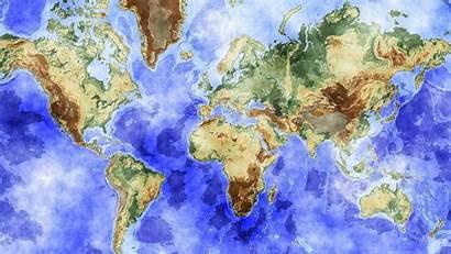 Watercolor Backgrounds Desktop Map Computer Wallpapers Resolution