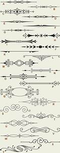 letterhead fonts lhf engraver39s ornaments 1 old With hand lettering ornaments