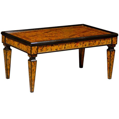 Hand Painted Coffee Table For Sale At 1stdibs