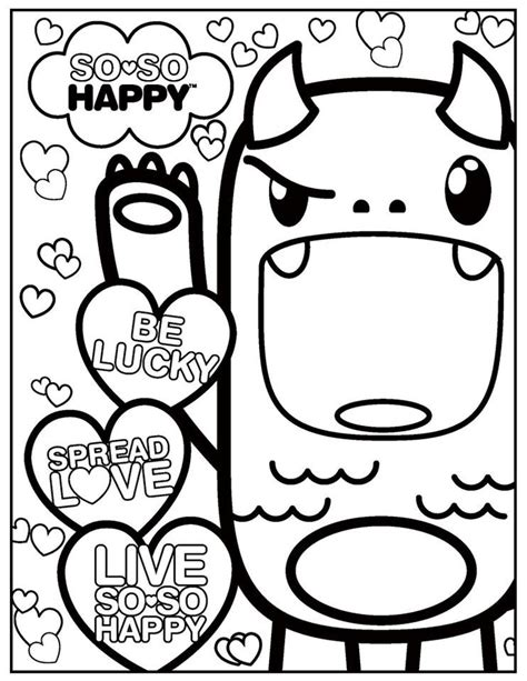kawaii coloring pages az coloring pages
